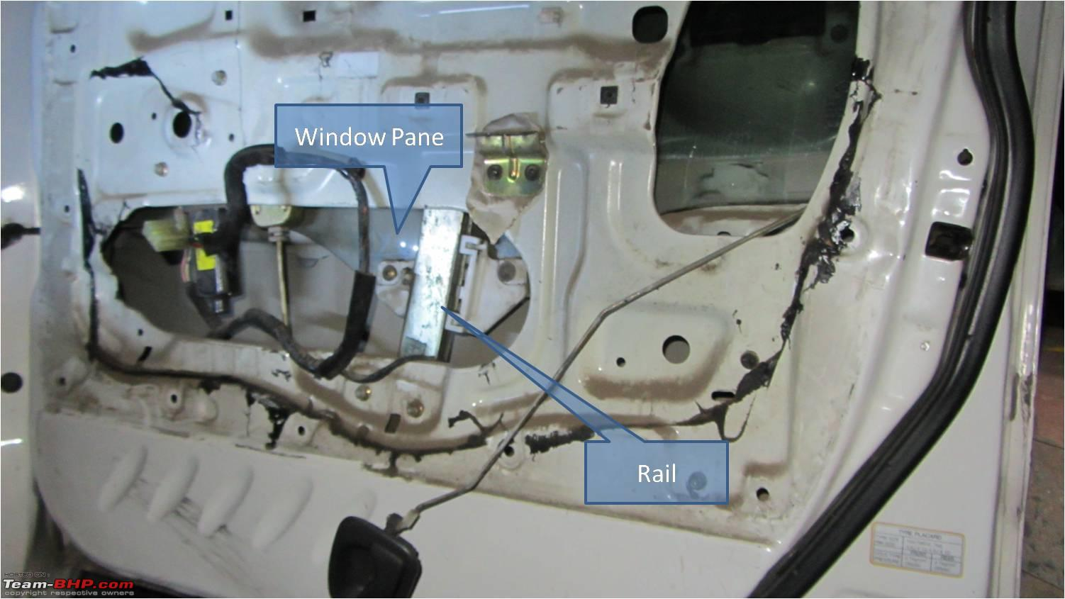 Power Window Failure How To Manually Roll Your Up Team Bhp 2006 Pacifica Switch Wiring Diagram 10