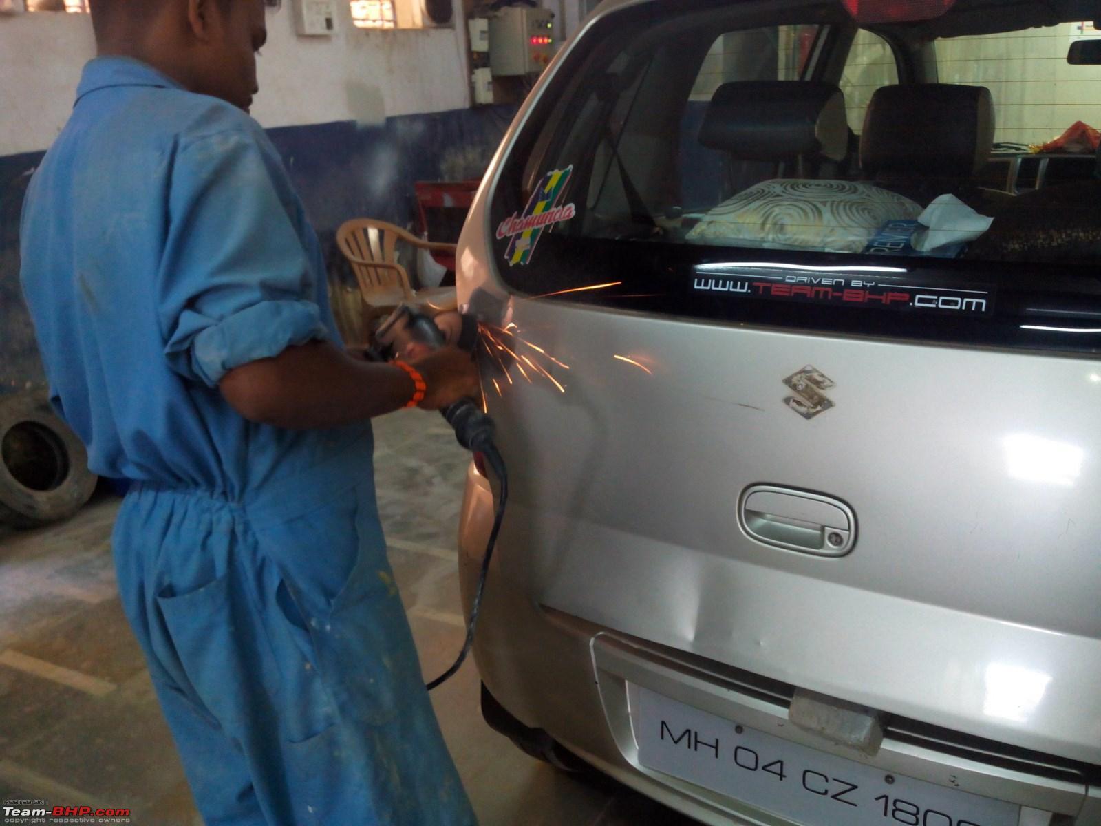 Bodywork painting a m motors borivali mumbai edit now closed