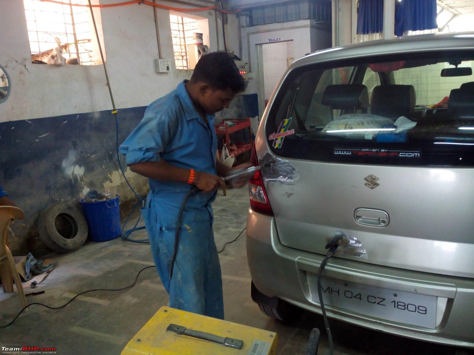 bodywork & painting - a. m. motors (borivali, mumbai). edit: now