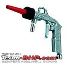 Team Bhp Convert Air Compressor To A Pressure Water Washer