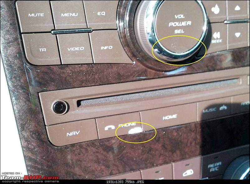 XUV 500 niggles and their solutions-button-damage.jpg