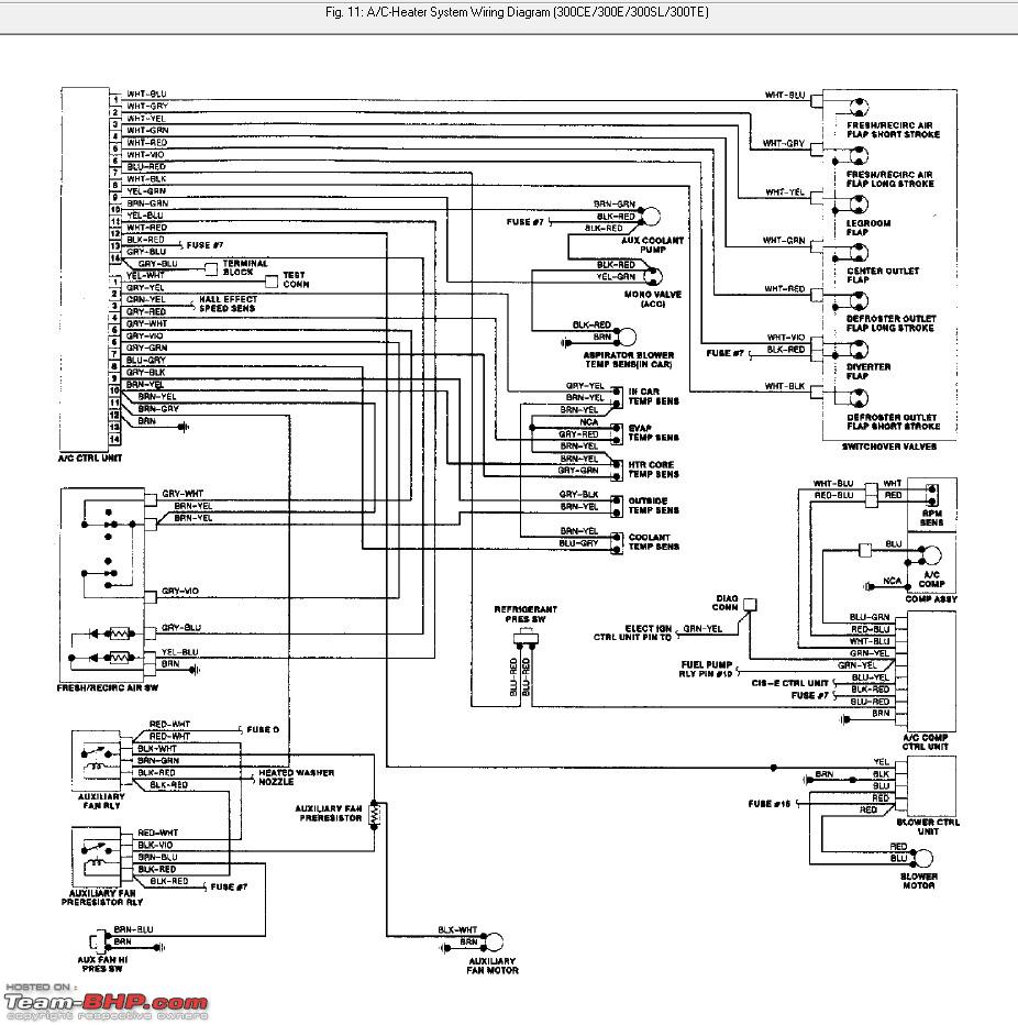 mercedes w124 wiring diagram