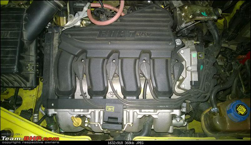 Fiat Palio S10 - Now, Restoration Complete!-engine.jpg