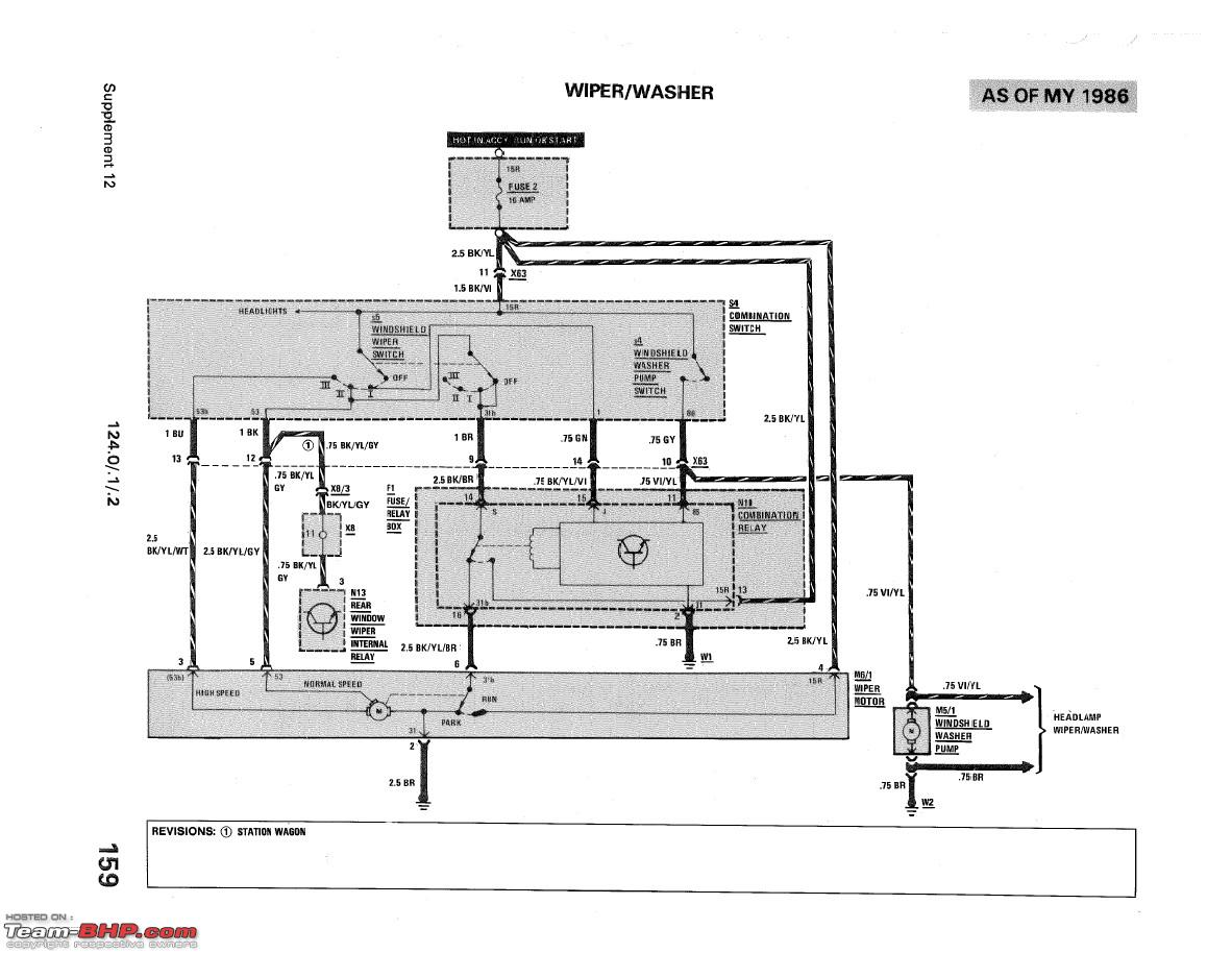 Wiring Diagram Radio W124 Page 2 And Schematics Mercedes Images Source E Cl Support Group 52 Team Bhp Rh Com