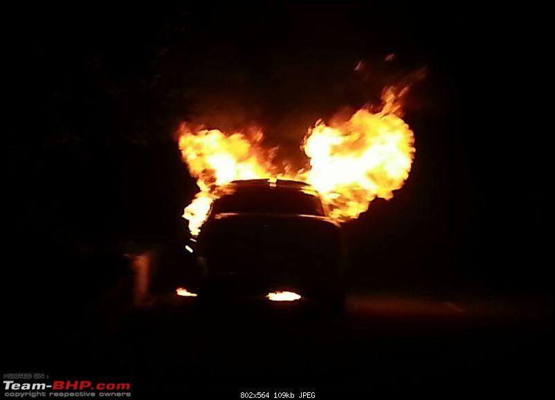 Skoda Laura catches fire, Disables owner. EDIT: Manufacturer response added --p2.jpg