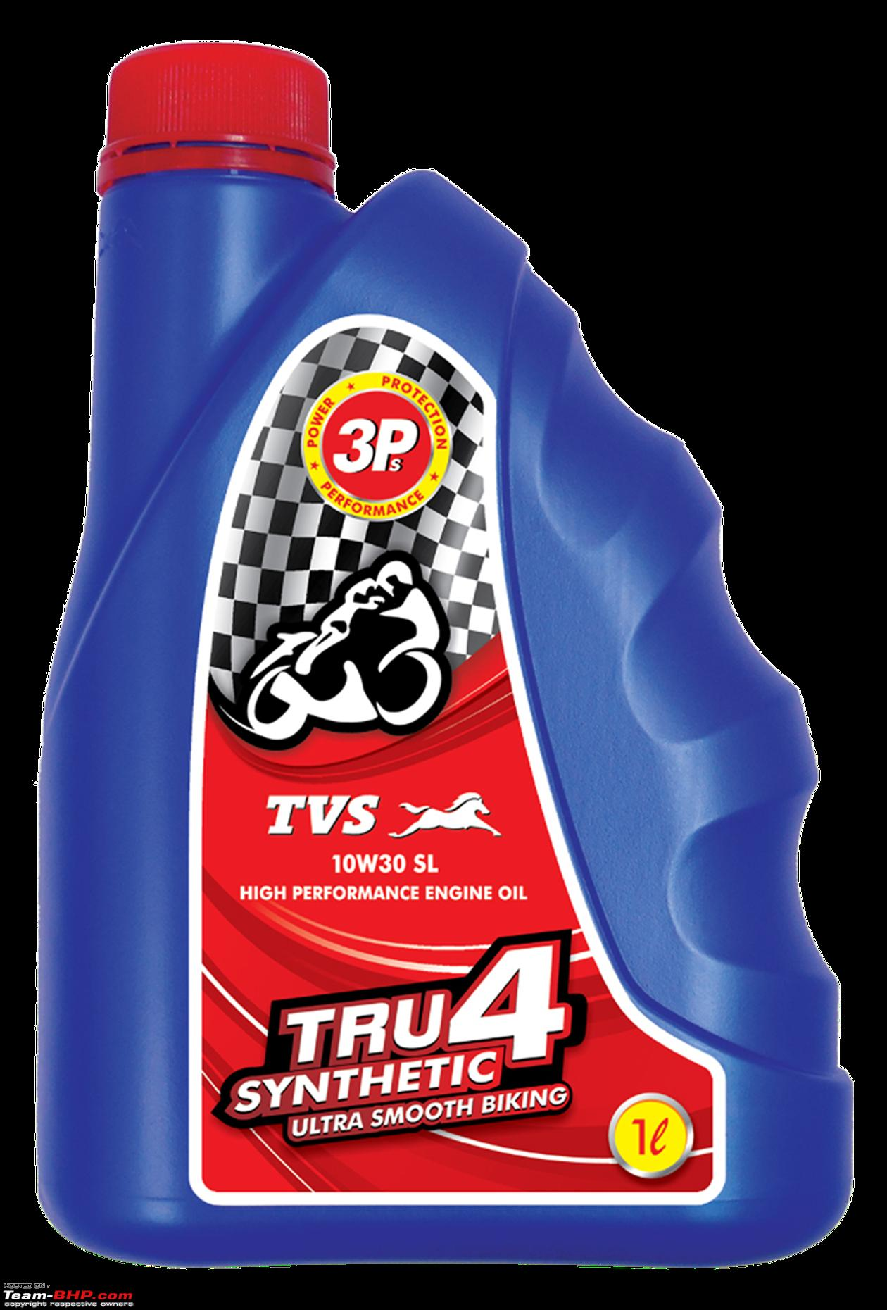 TVS launches synthetic engine oil at Rs  525 per litre