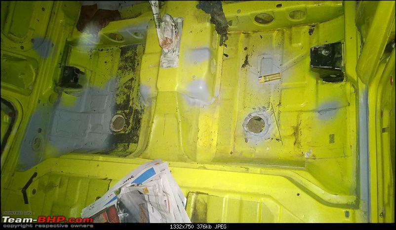 Fiat Palio S10 - Now, Restoration Complete!-rust-removal-rear-footwell.jpg