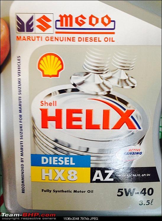 maruti circular  swift engine oil change     page  team bhp