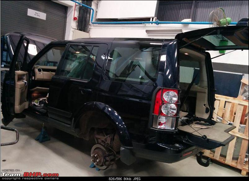 Land Rover Discovery 4: A near death experience, continuous problems & poor service-workshop.jpg