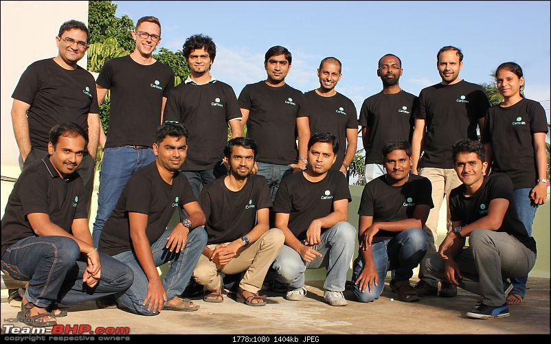 Cartisan, Bangalore: Connecting car owners with service providers-cartisan-team-picture.jpg