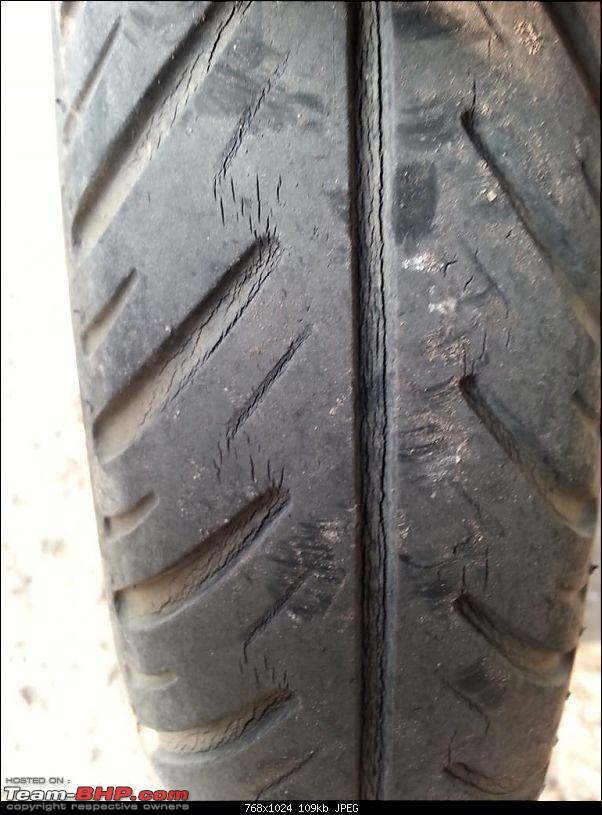 Michelin XM1+ Tyres: Age-related damage or failure?-old-front.jpg