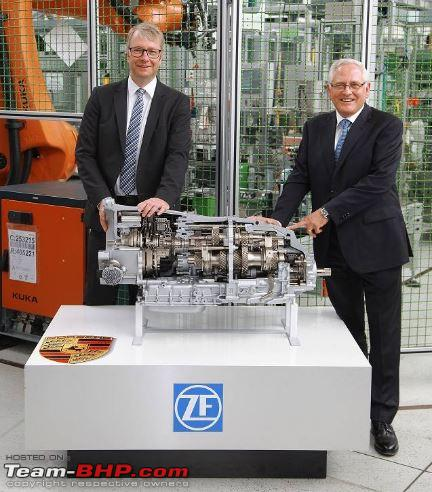 ZF starts production of dual-clutch 8-speed gearbox - Team-BHP