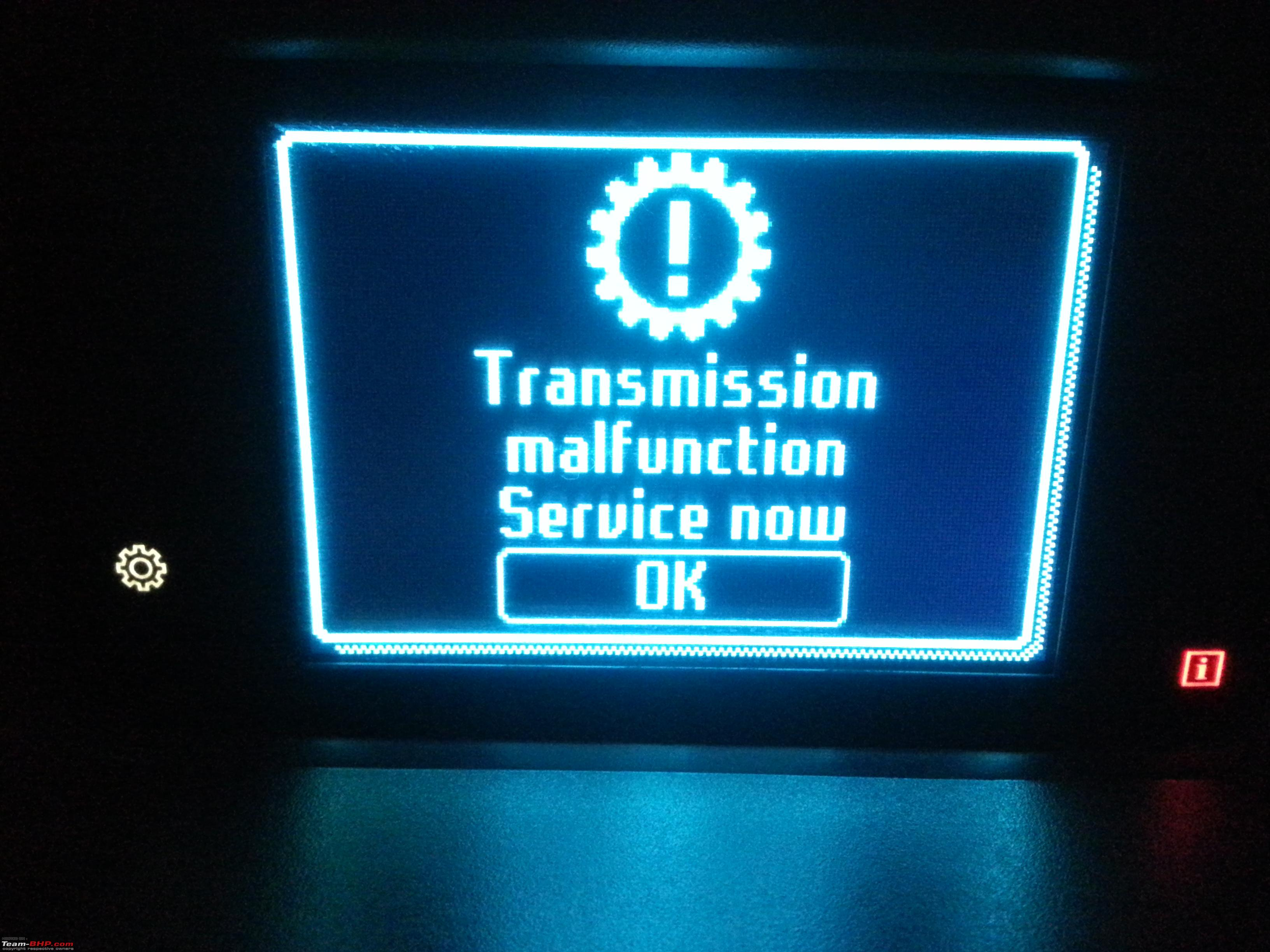 Ford ecosport 1 5l at transmission control module replaced under warranty at 26 162 km