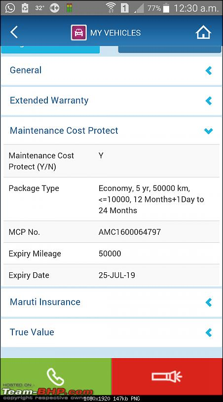 Maruti's new Service Packages - MCP (Maintenance Cost Protect) for its entire range of cars-screenshot_20160801003010.png