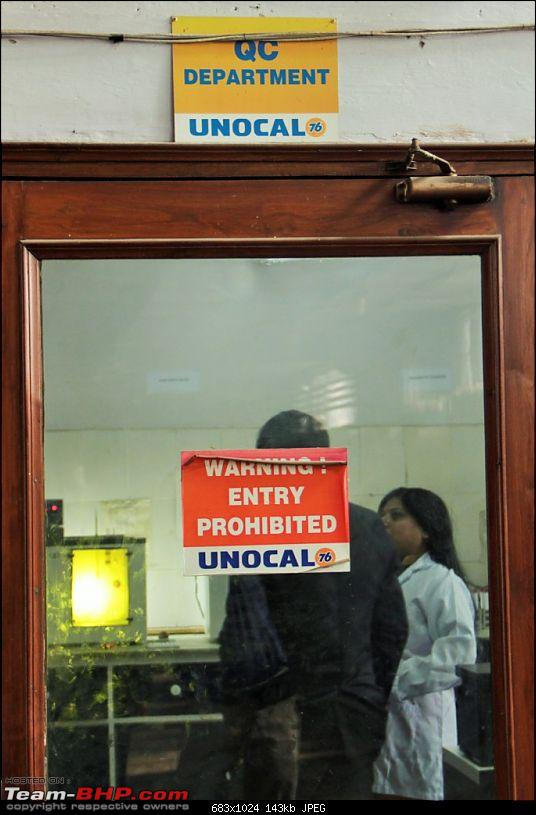Inside the Raaj Unocal Lubricants factory (Faridabad), used oil analysis & an interview-lab-20.jpg
