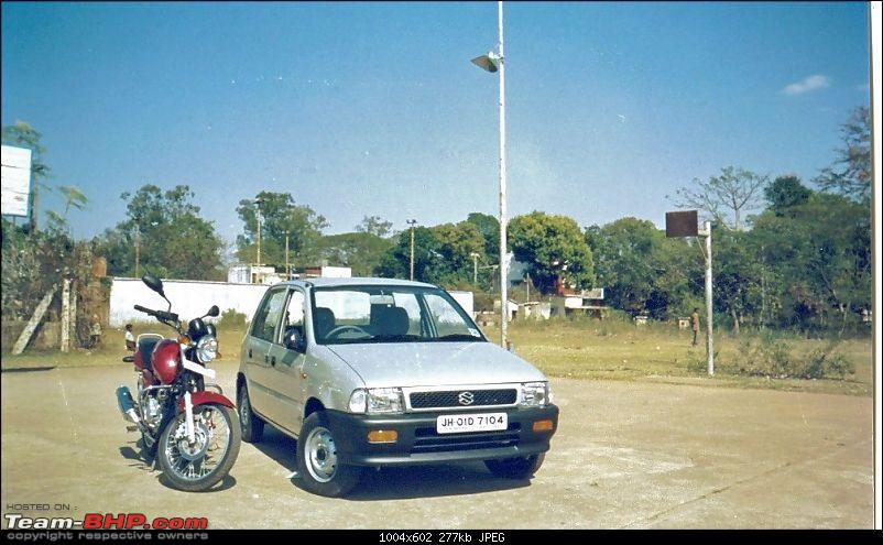A Tribute to my Dad - Maruti Zen Restoration-zen-pulsar.jpg