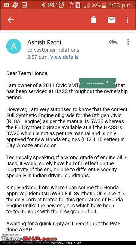 Honda Civic : Maintenance, Service Costs and Must dos-1500719923098.jpg