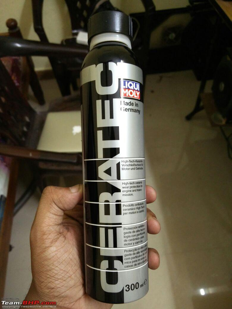 review liqui moly cera tec friction modifier in my skoda. Black Bedroom Furniture Sets. Home Design Ideas