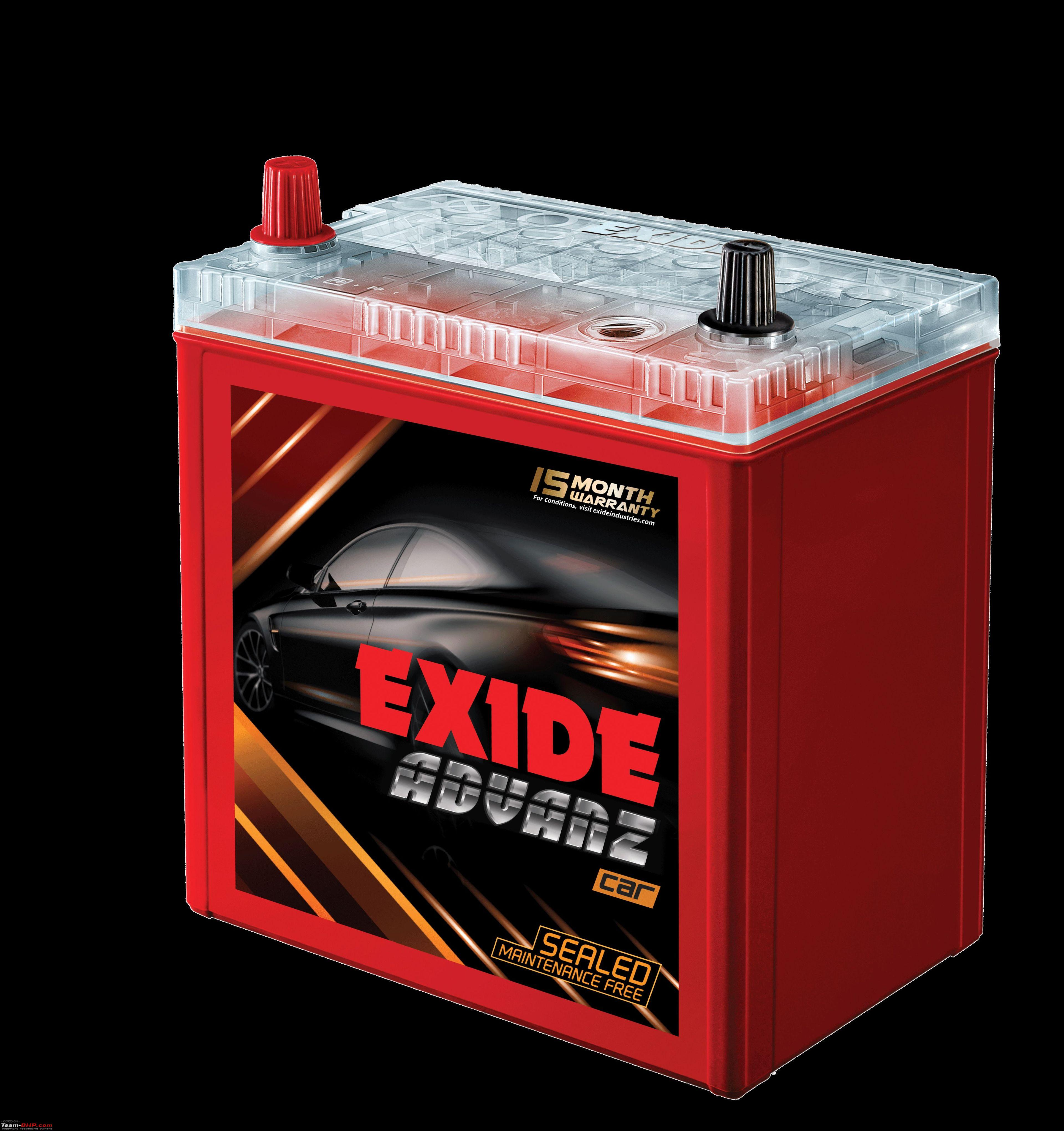 Exide Car Battery >> The Exide Advanz With Battery Life Indicator Edit Now