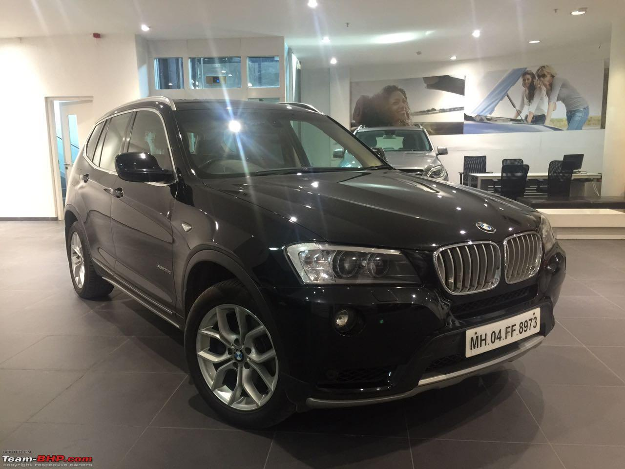 BMW X3 (F25) at 130,000 km - Spends 25% of its time in the workshop