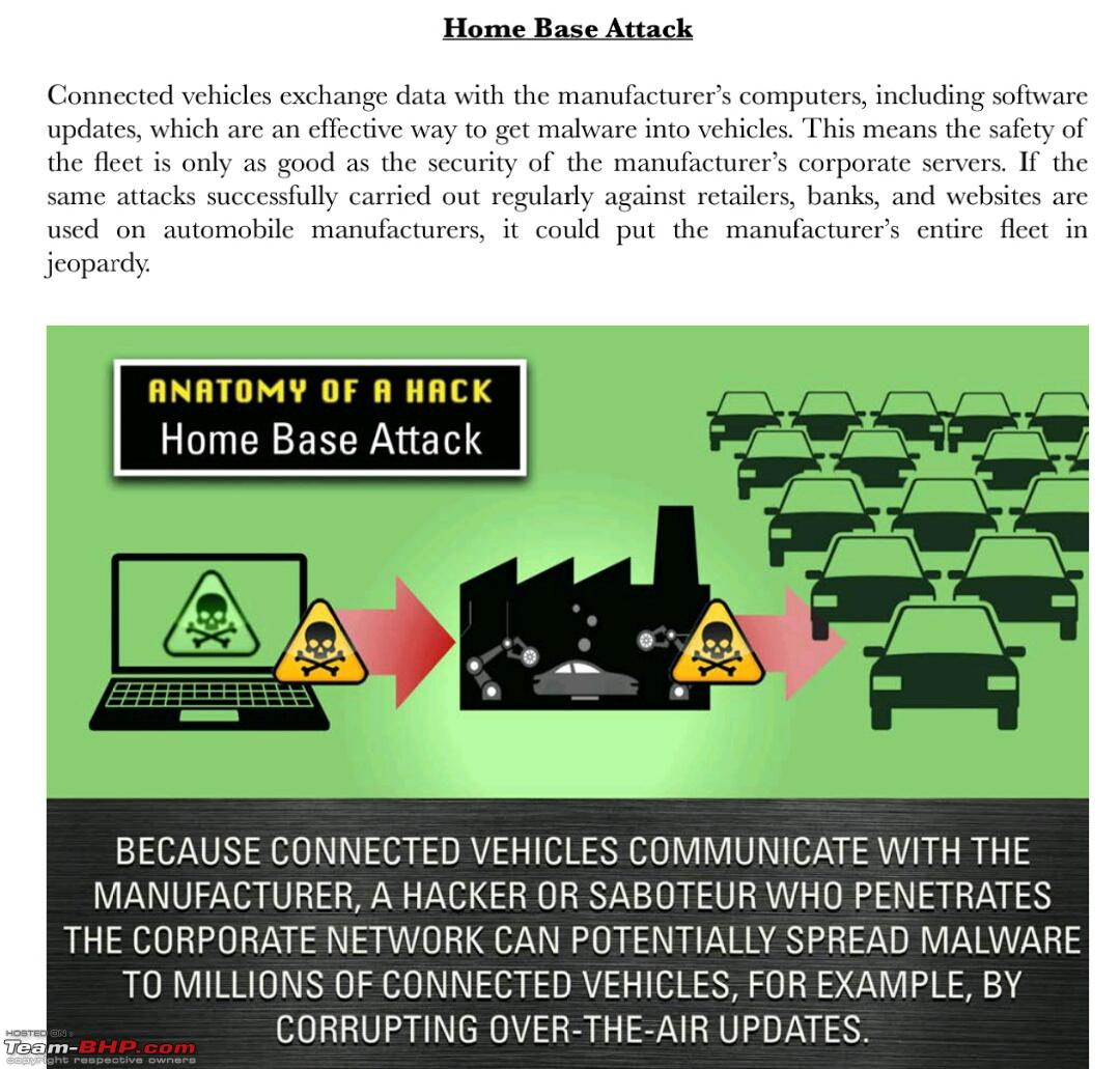 Are 'Connected Cars' vulnerable to cyberattacks? - Team-BHP
