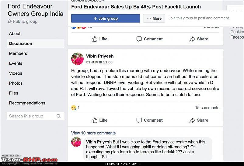 Ford Endeavour 3.2 AT - Gearbox failure. Recalled in other countries, but not in India!-ford-endeavour-india-facebook-group-2.jpg