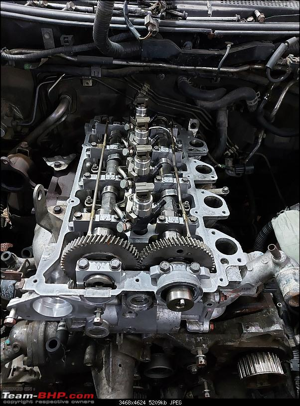 My pre-owned Mitsubishi Pajero Sport | Return of the overheating ghost & solving it-pajerosport_injectors_camshafts_piping.jpg