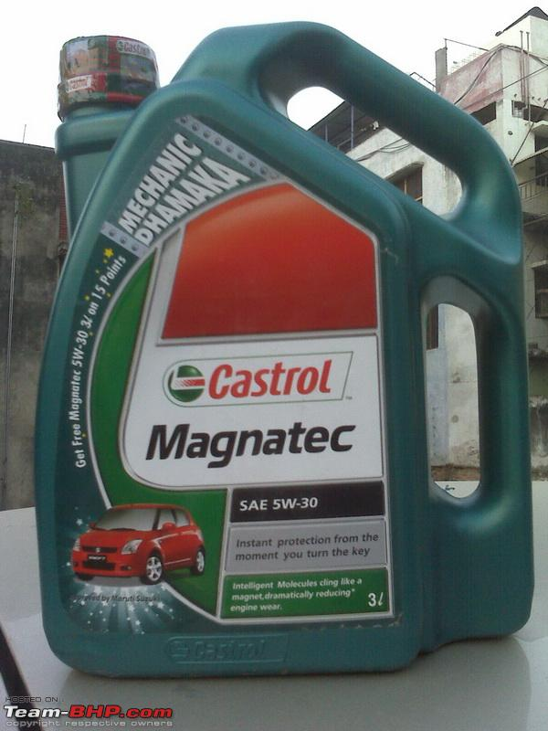 Experience - Castrol Magnatec Vs Total Quartz 7000 - Team-BHP