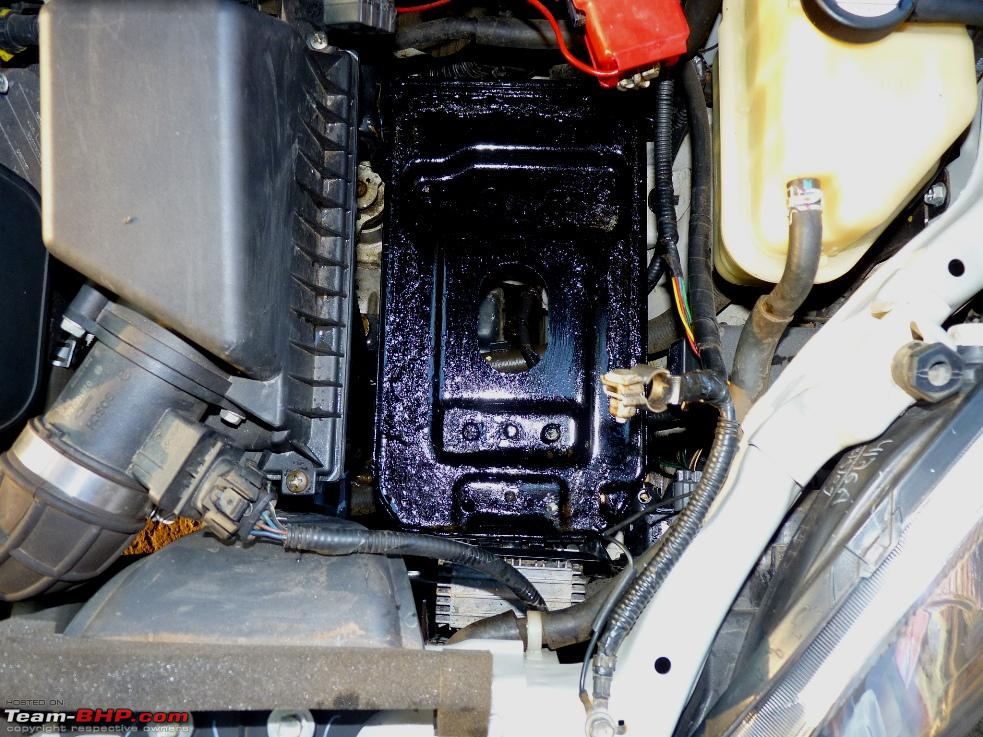 Battery water overfilled, Acid spill around - Page 2 - Team-BHP