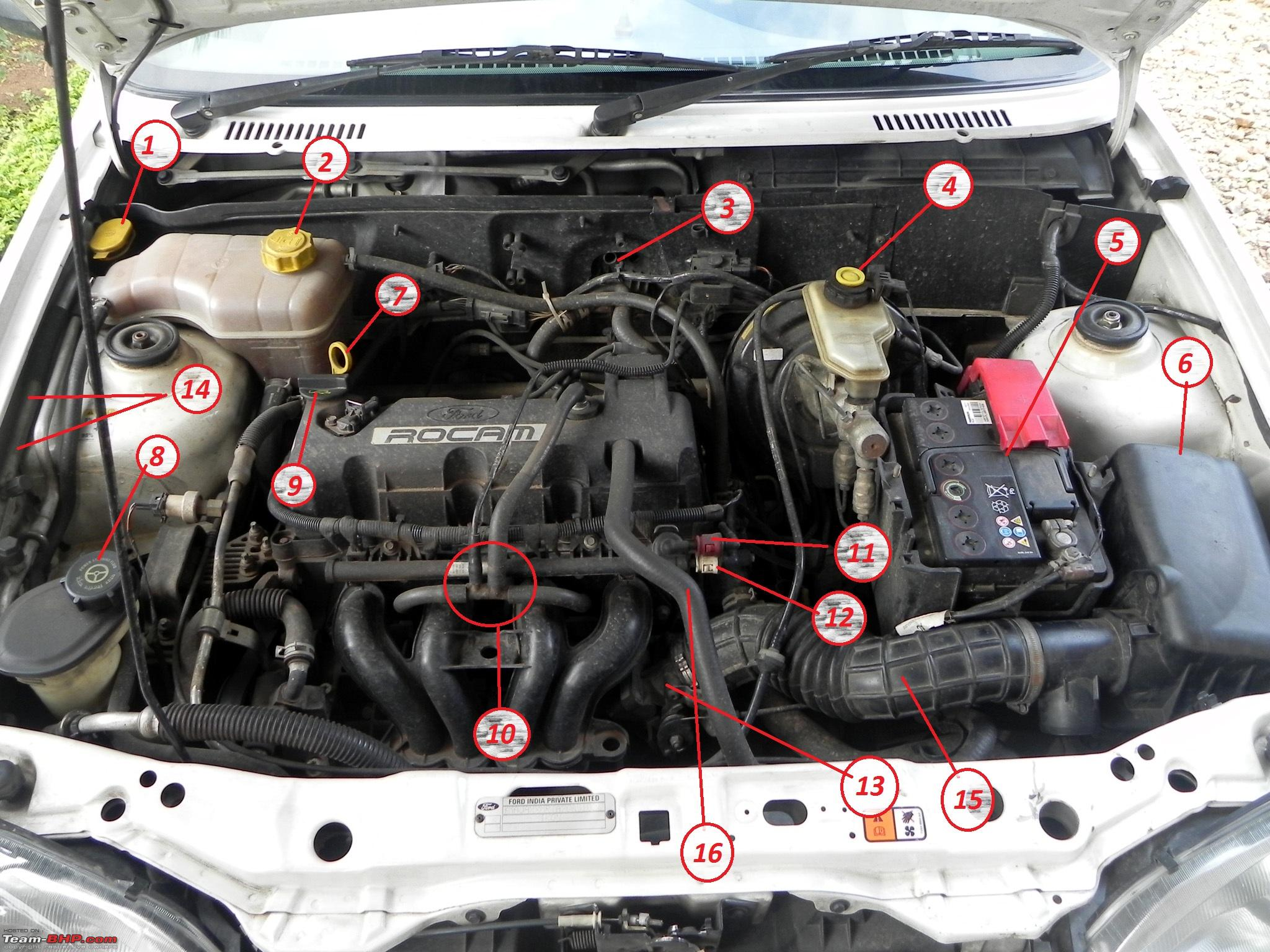Know your engine bay: