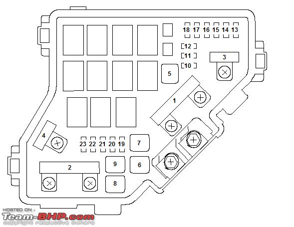 honda civic 07 fuse box honda wiring diagrams online