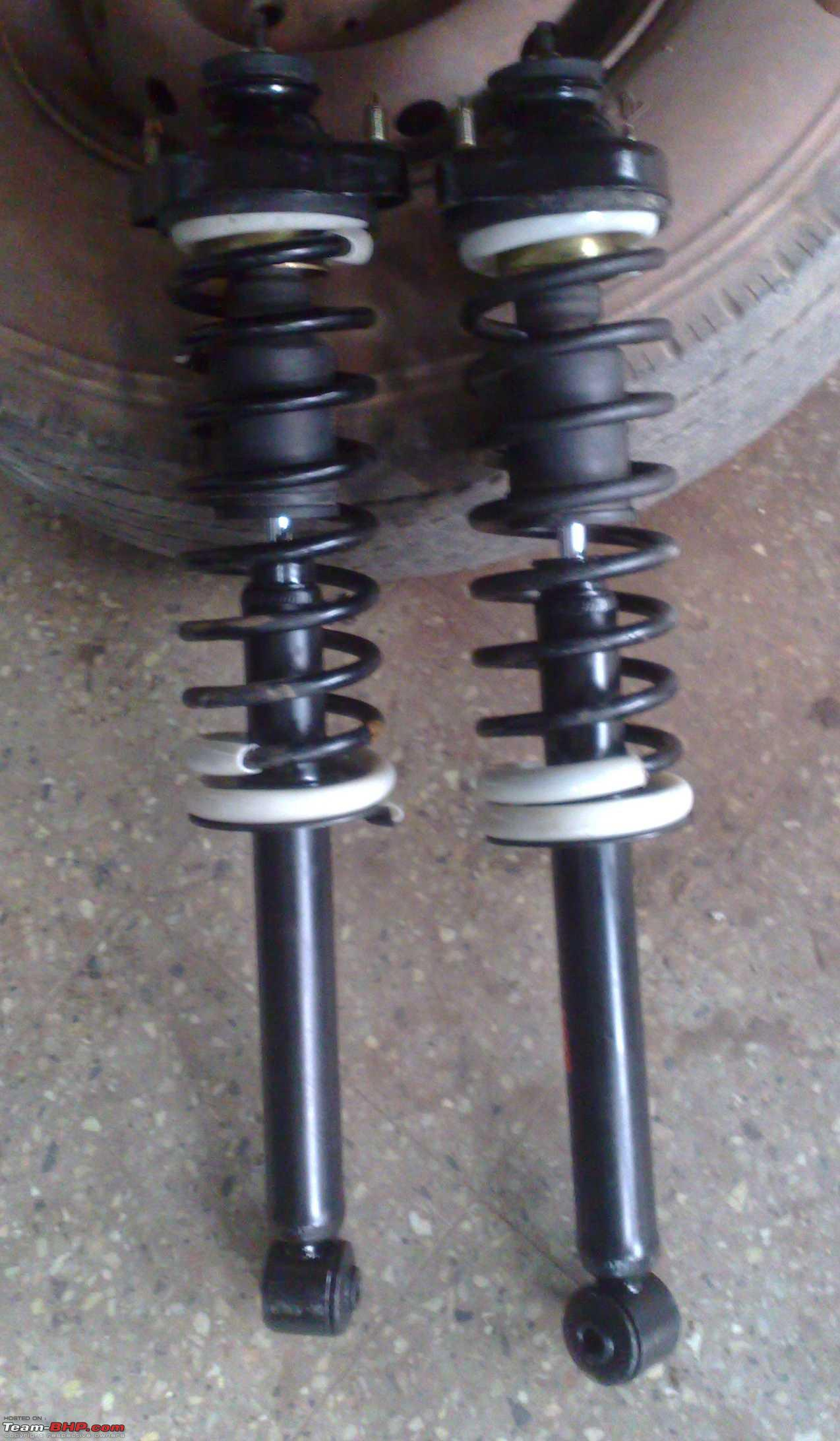 Lancer Rear Suspension work @90k - Team-BHP