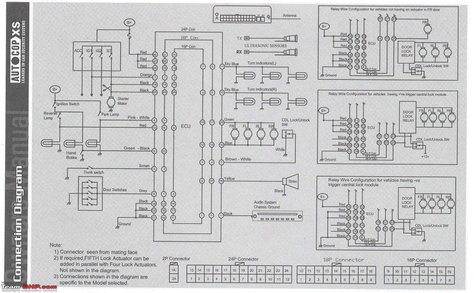 Autocop Xs Manual Wiring Diagram Team Bhp The Schematic Of Door Alarm Circuit Image 5