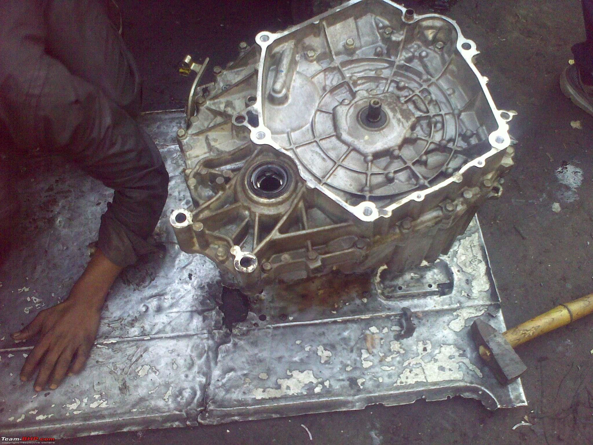 PICS : Overhauling a Honda City CVT transmission - Team-BHP