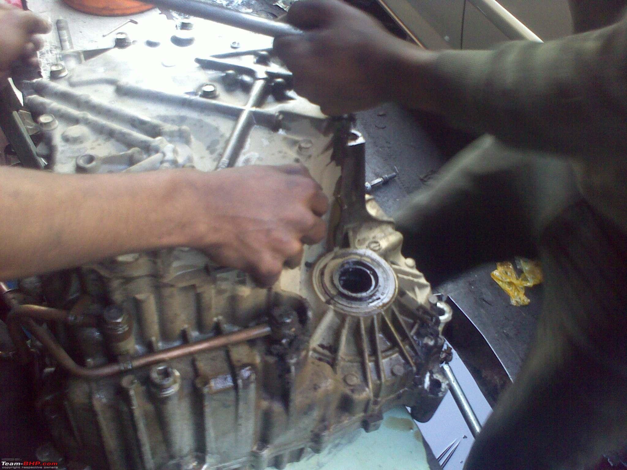 Pics Overhauling A Honda City Cvt Transmission Team Bhp Diagram 26022012172