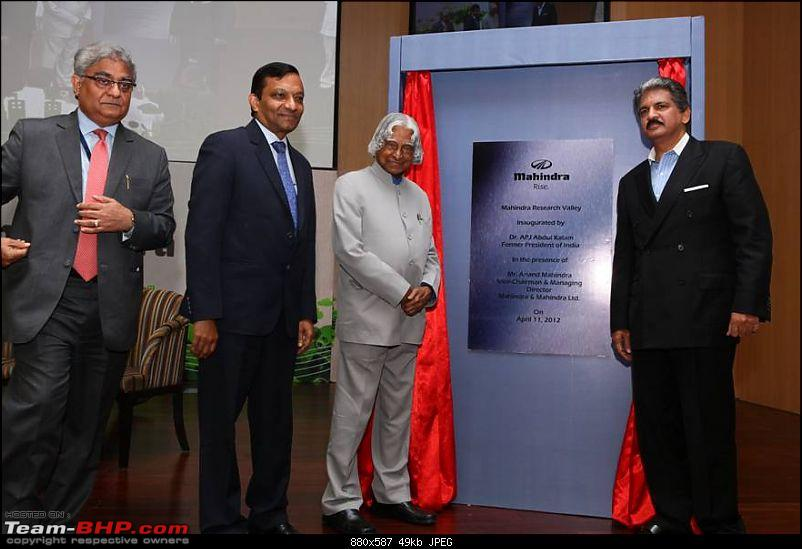 Mahindra Research Valley - an R&D center - inaugurated in Chennai-1.jpg