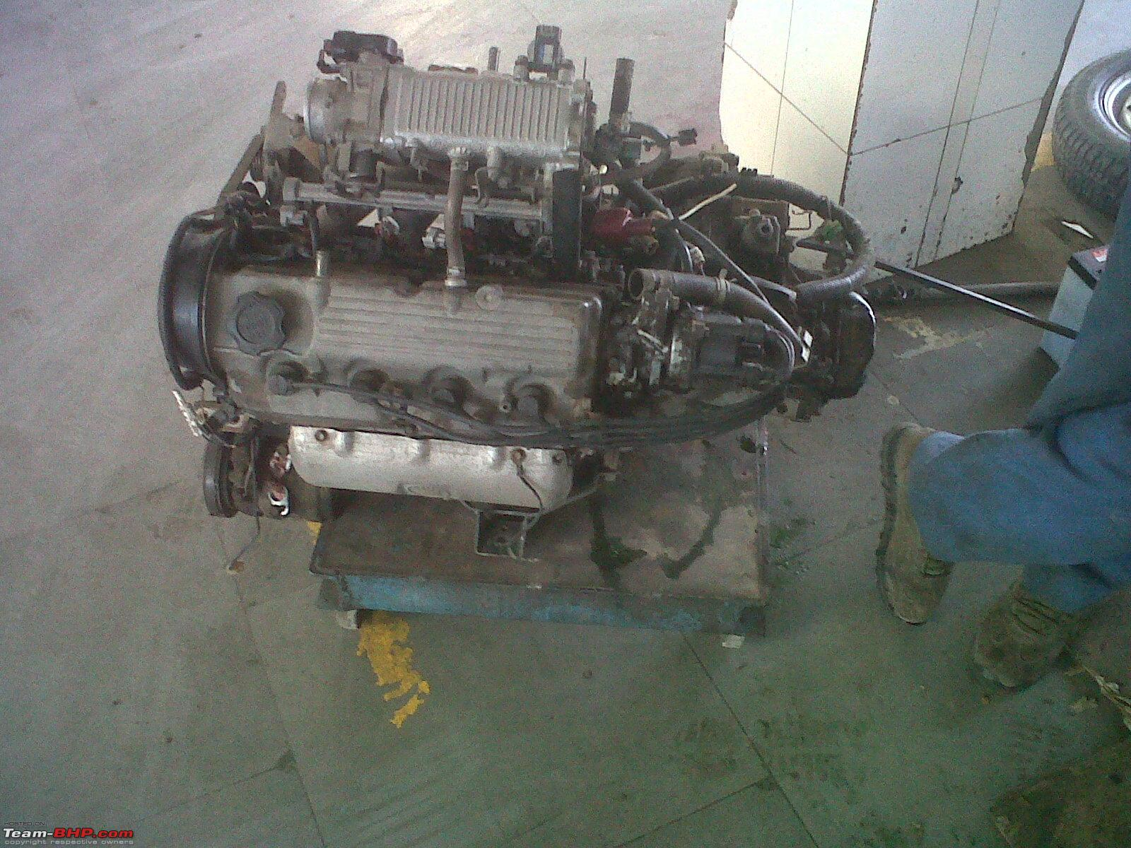 2003 Maruti Zen Engine Swap : Twin Cam 1300cc GTi Power ...