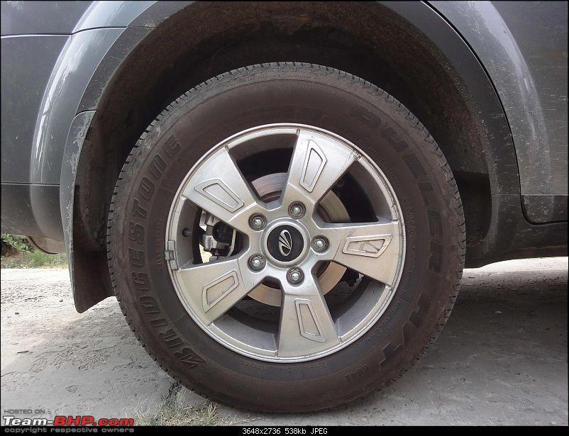 XUV 500 niggles and their solutions-rear-wheel-no-blackening.jpg