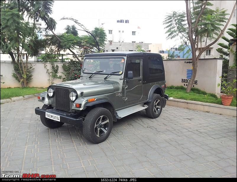 Call of the wild - Mahindra Thar CRDe-front-left-three-quarter.jpg