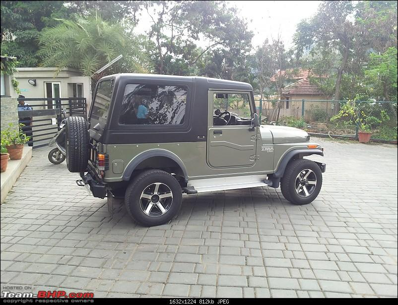 Call of the wild - Mahindra Thar CRDe-rear-right-three-quarter.jpg