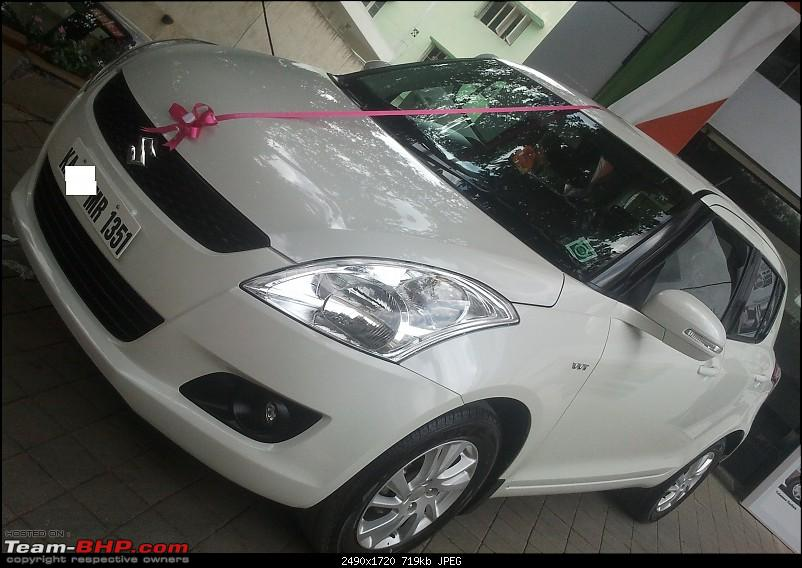 My new Maruti Swift Zxi-up1.jpg