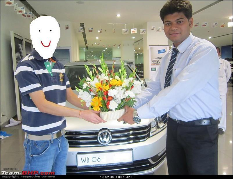 2012 Volkswagen Passat Highline - The beast finally comes home!-delivery.jpg