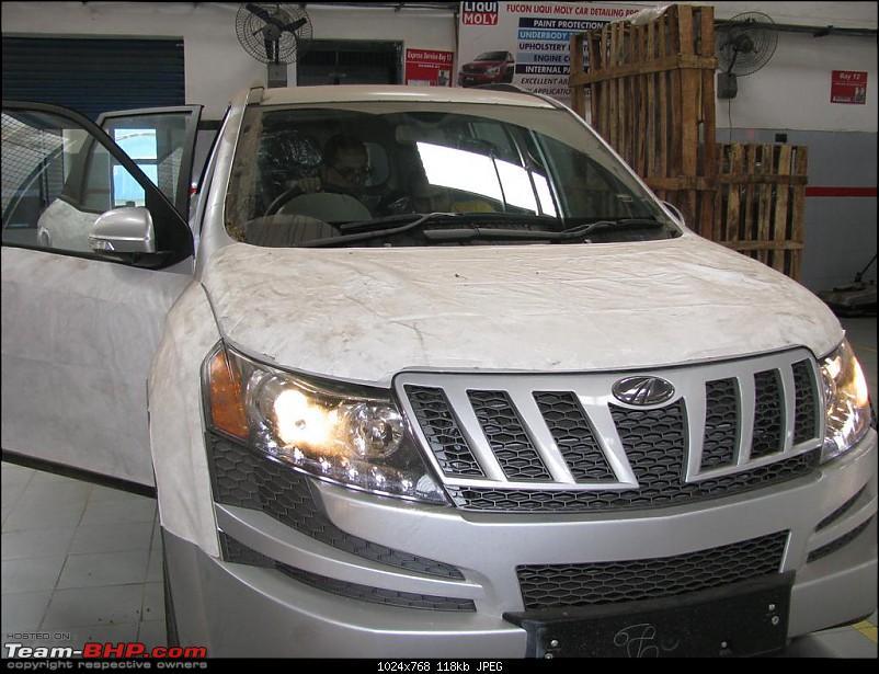 Debuda's Silver Mahindra XUV500 W6 @ Jamshedpur-dmxuv-1.jpg