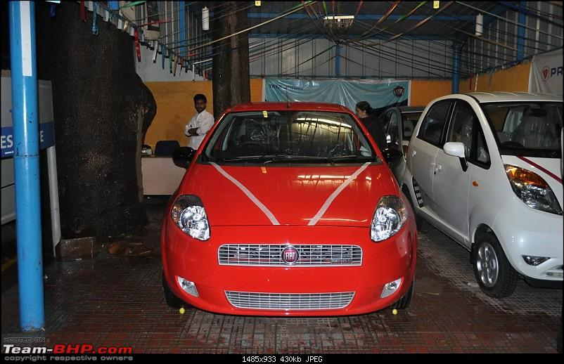 The Red Rocket - Fiat Grande Punto Sport. *UPDATE* Interiors now in Karlsson Leather-delivery1.jpg
