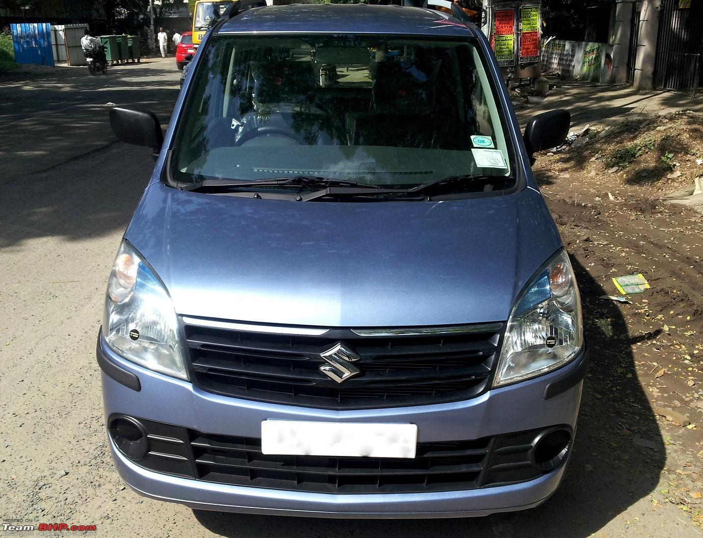 Maruti wagonr lxi selection purchase and review front view_smaller jpg
