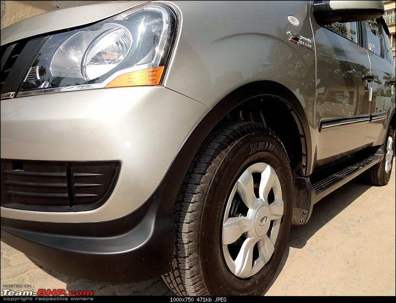Mahindra Xylo - The Time of our Life @ 17 months / 15000 kms-xylowheelarch.jpg