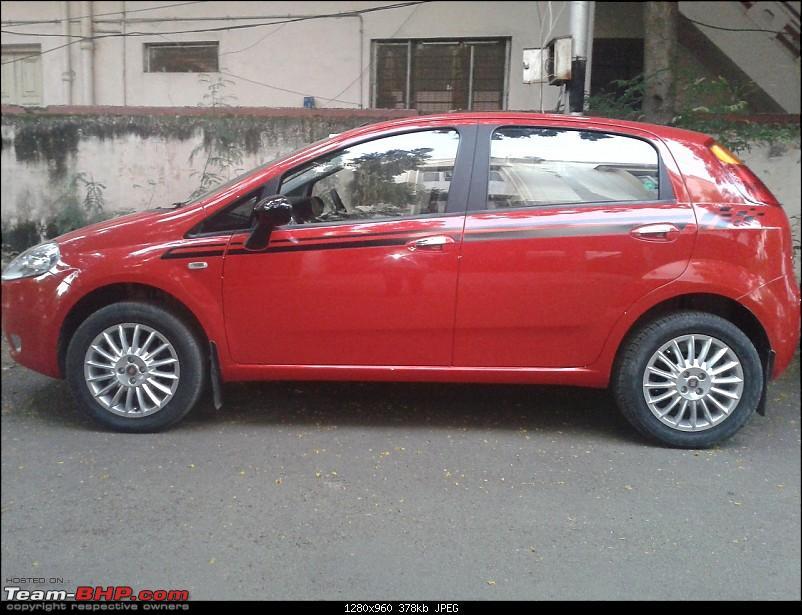 The Red Rocket - Fiat Grande Punto Sport. *UPDATE* Interiors now in Karlsson Leather-16-inch.jpg
