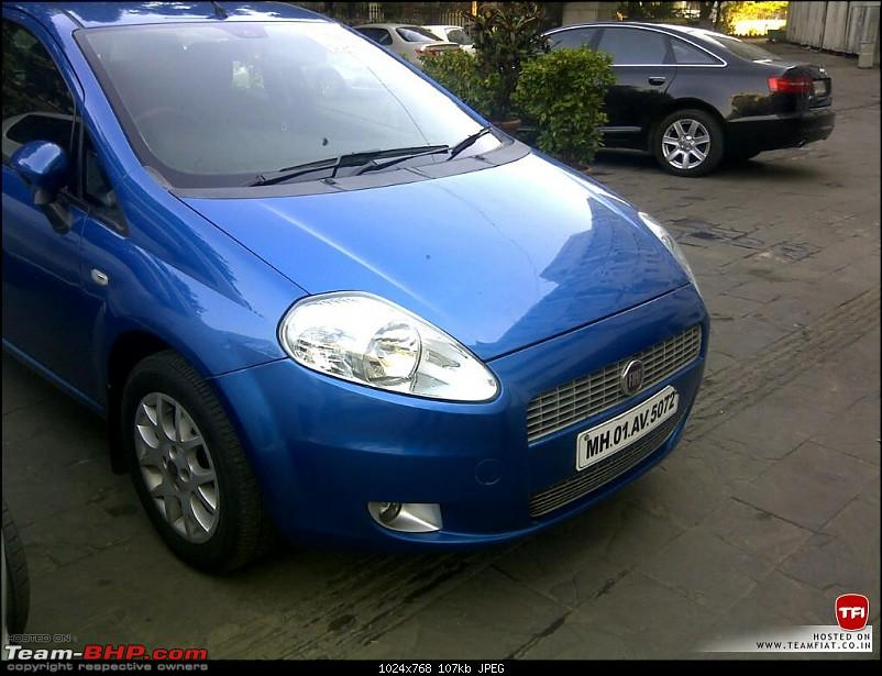 Finally we have our European beauty, Fiat Punto 1.4 E+. Christened Trinity.-img2012122200099.jpg