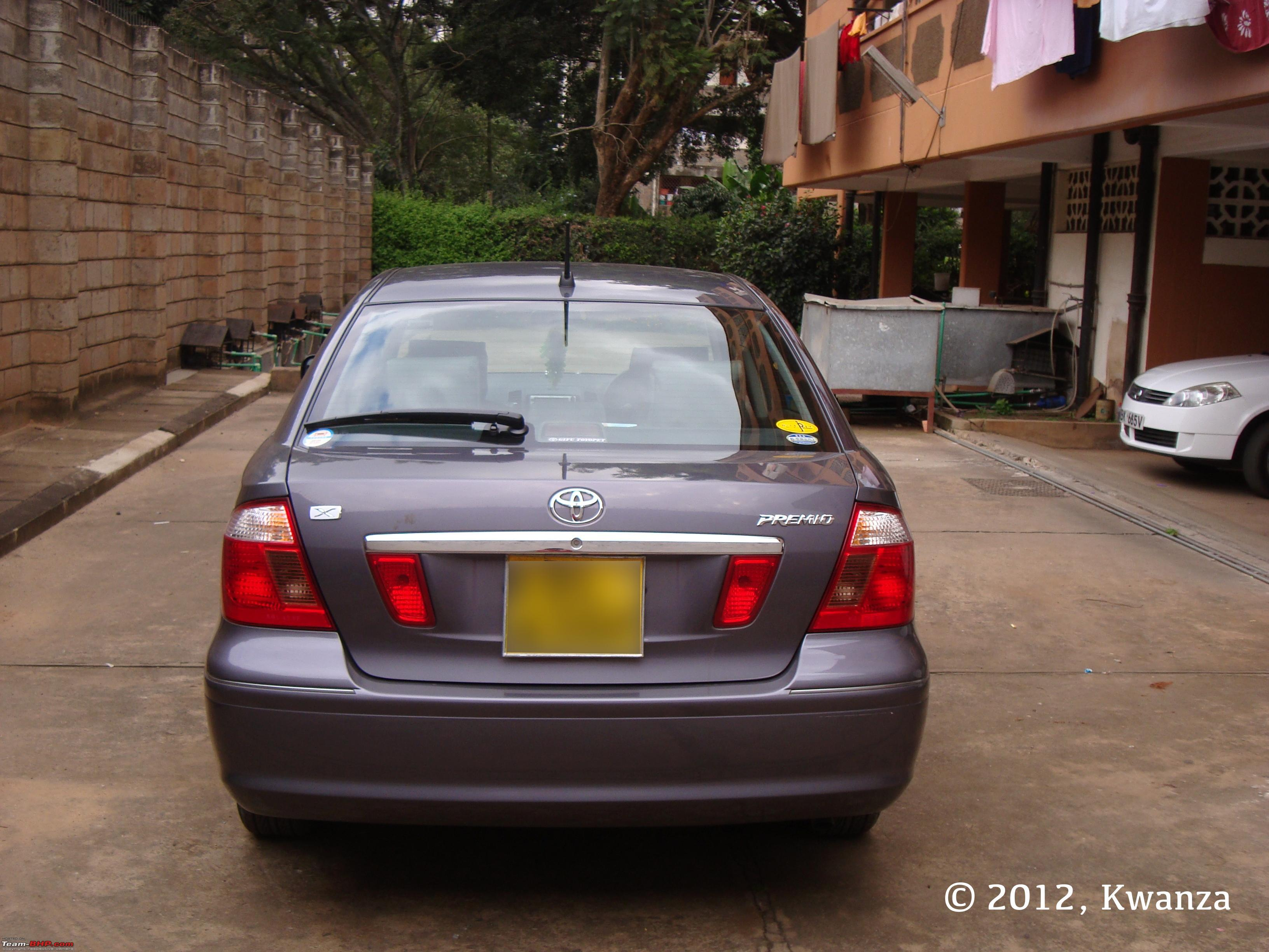 A Review Of My Toyota Premio Ex Japan Team Bhp Old 10