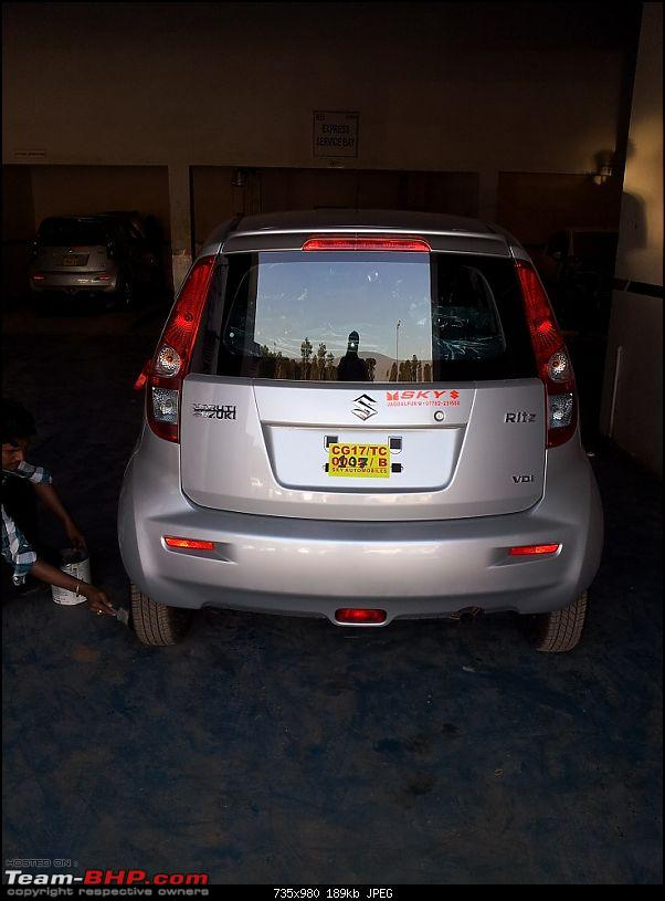 2012 Maruti Ritz VDI - Our new family workhorse! **EDIT: Now sold!**-20121224_155536.jpg
